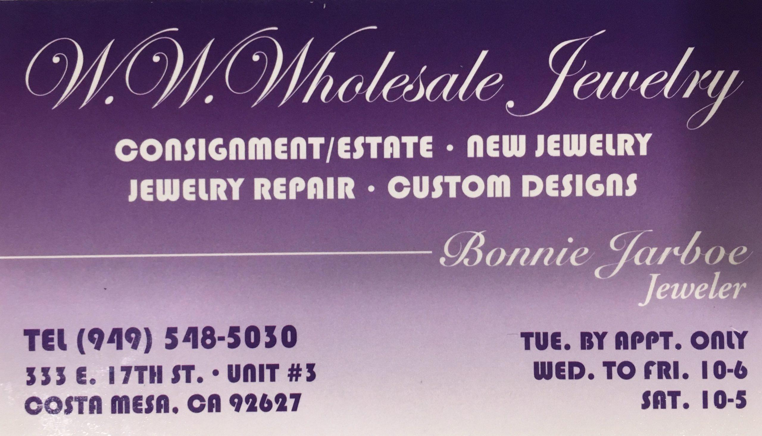 WW Wholesale Jewelry